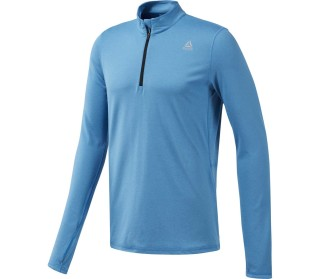 Reebok Quarter Zip Men Running Long Sleeve
