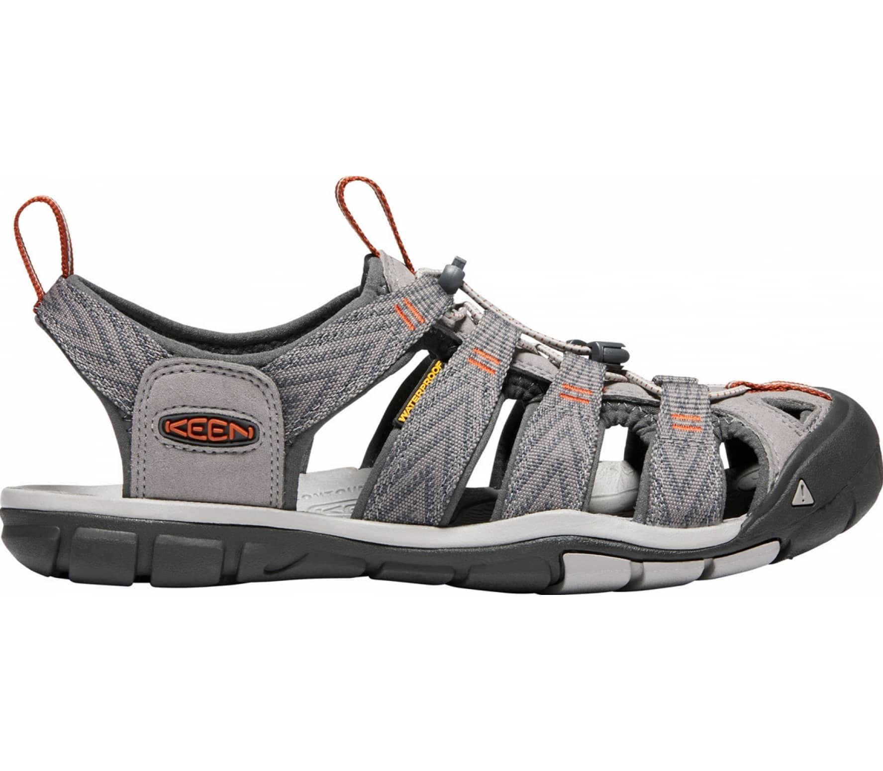 d54f7c86c8 Keen - Clearwater Cnx Uomo Outdoorsandale (grigio)