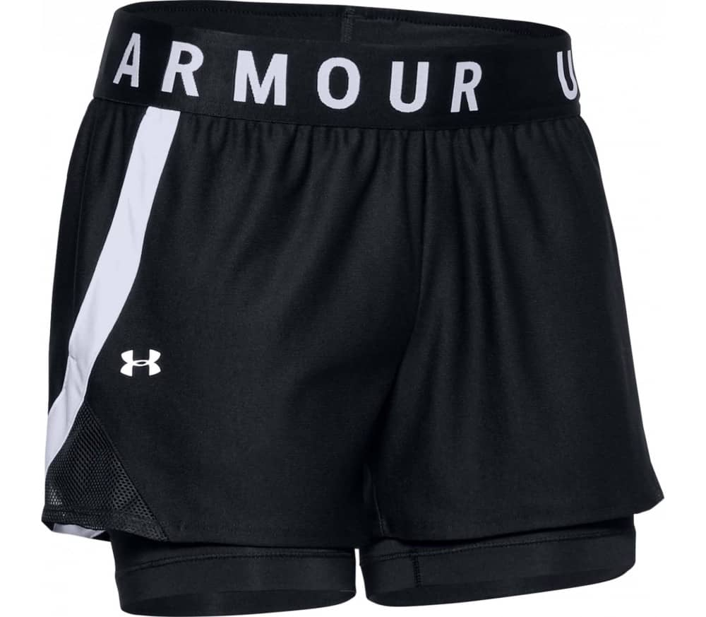 Play Up 2-In-1 Women Training Shorts