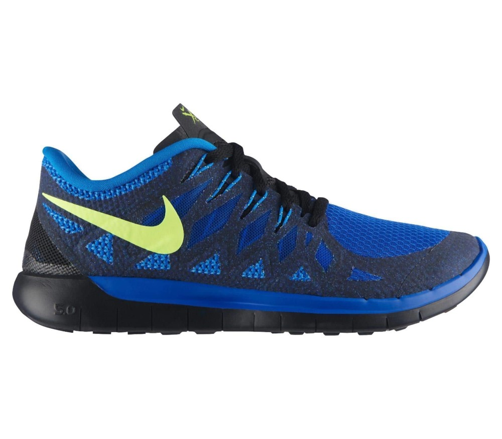 nike free 5 0 herren laufschuh blau schwarz im online. Black Bedroom Furniture Sets. Home Design Ideas