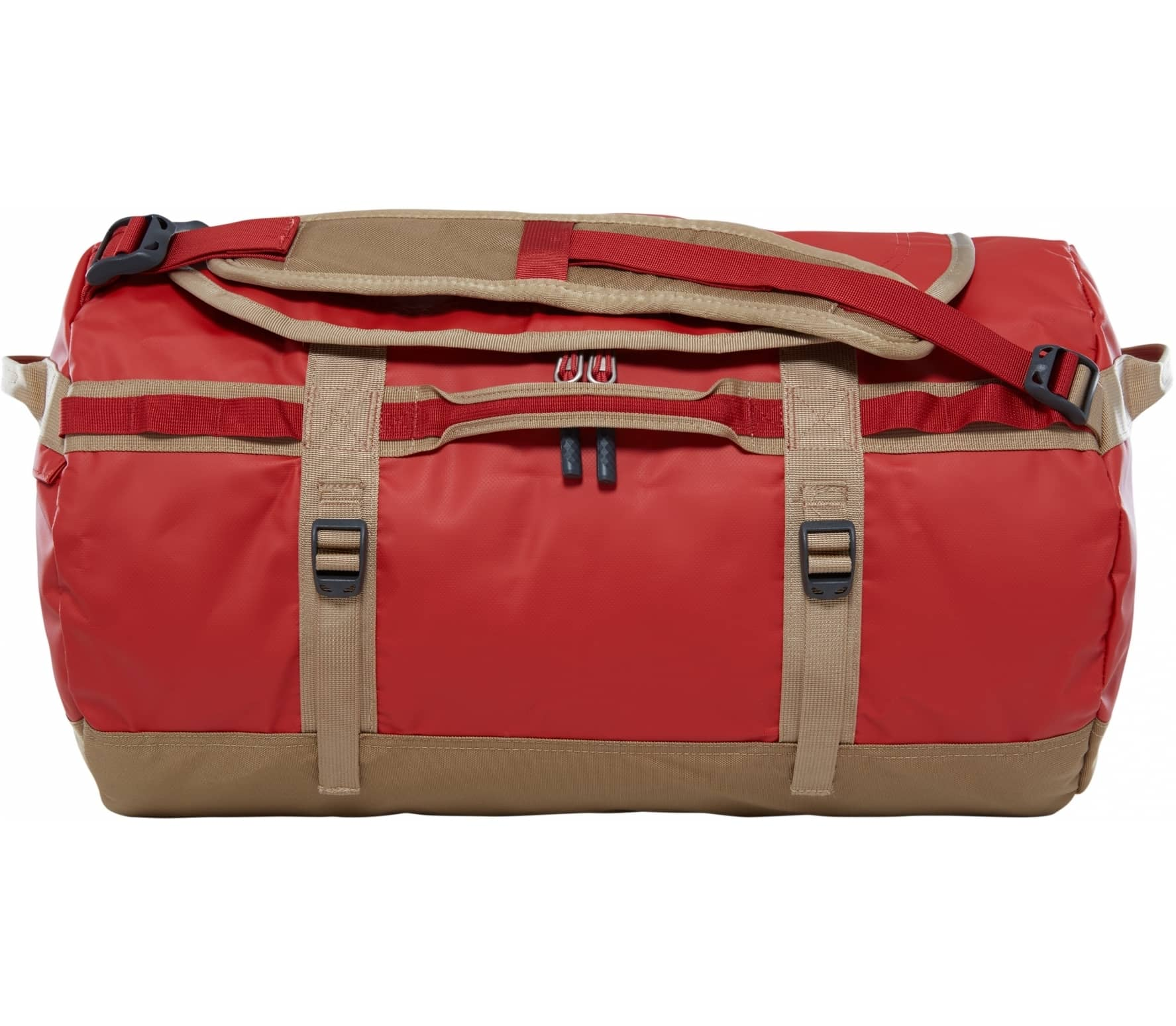 The North Face - Base Camp S duffel bag (dark red/beige) thumbnail