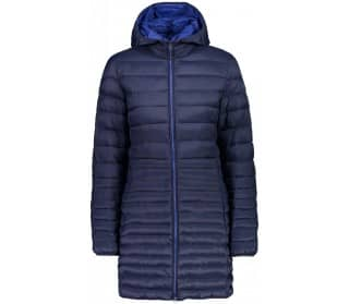 Zip Hood Women Down Coat