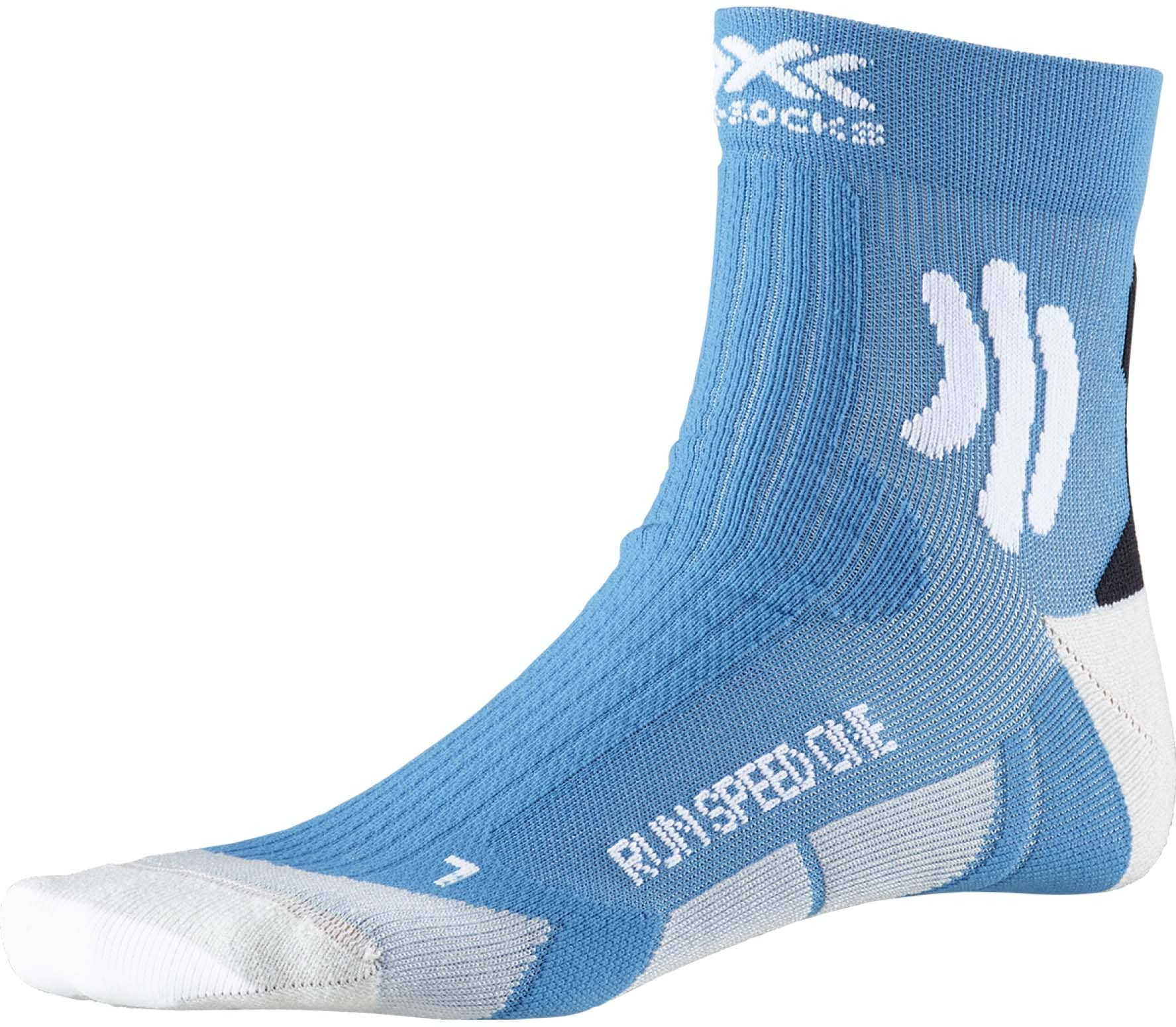 X-BIONIC Speed One Herren Laufsocken blau