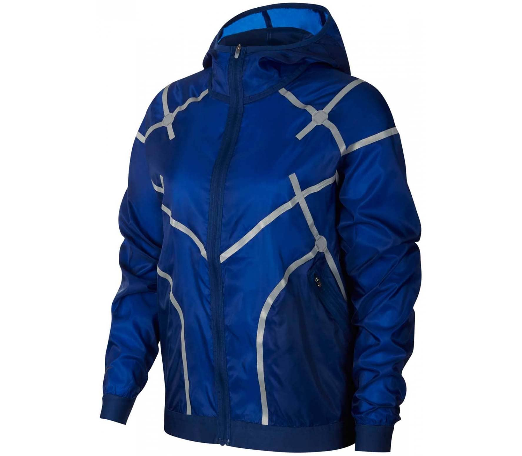buy popular 475ef c7560 Nike Sportswear City Ready Hooded Damen Jacke blau