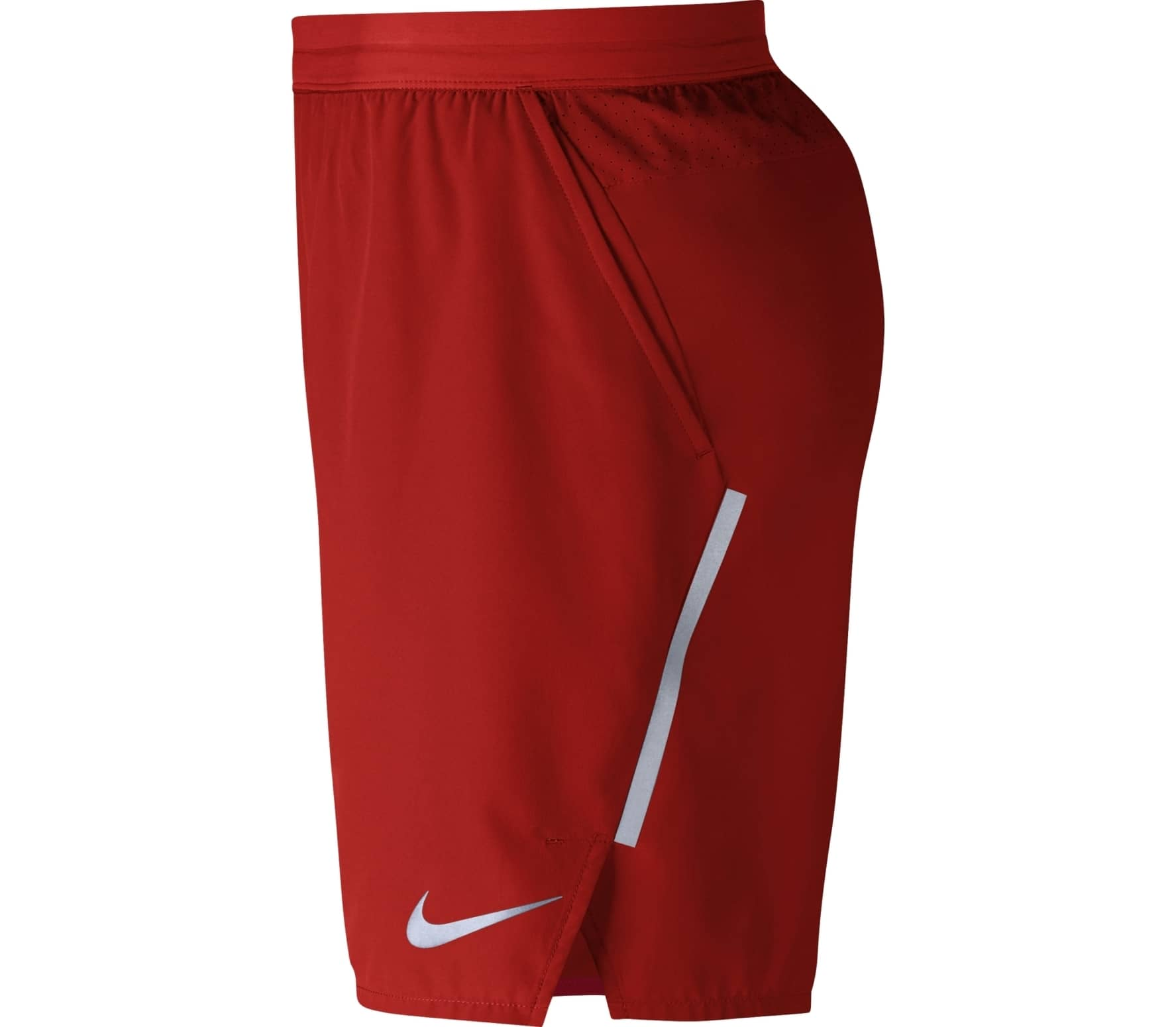 super cheap wholesale online new high quality Nike - Distance 7 inch short de running pour hommes (rouge)