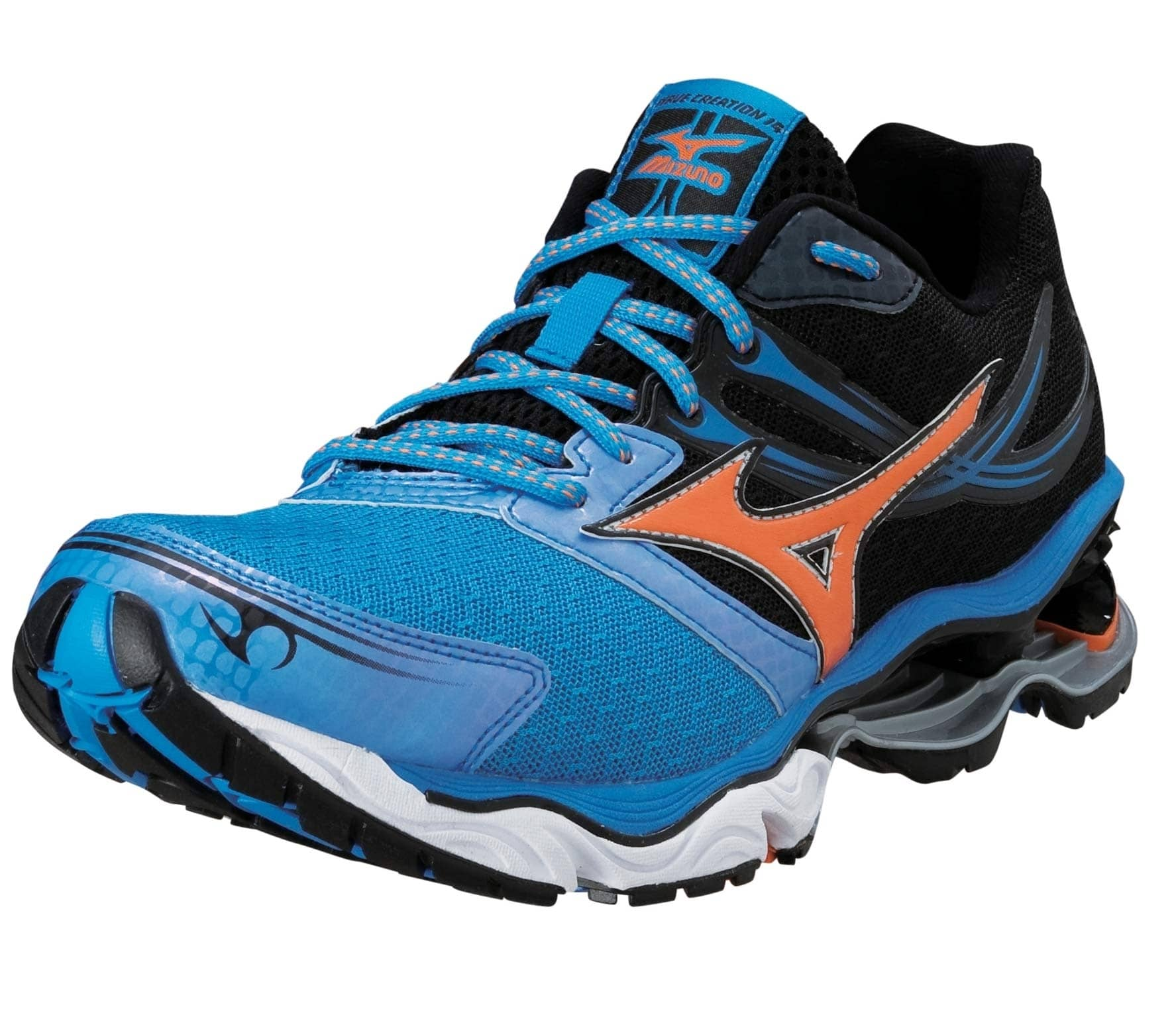 new arrival 0cb87 e95bb Mizuno - Wave Creation 14 men s running shoes (blue black)