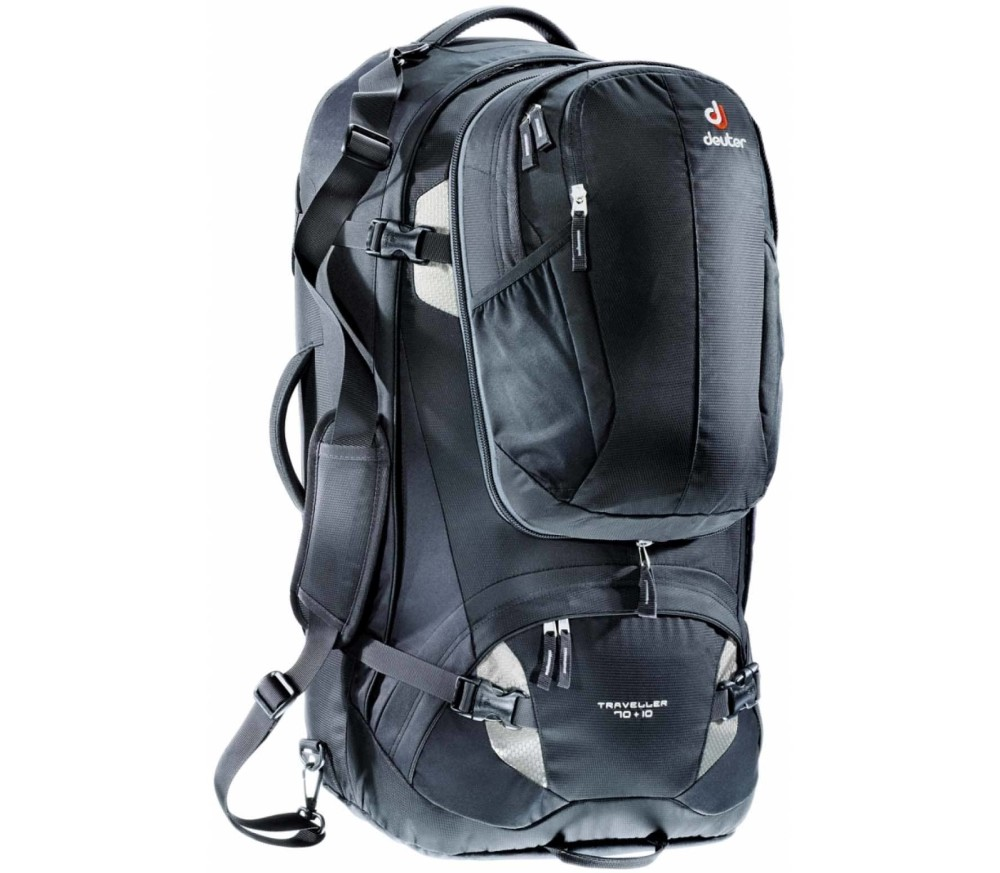 Deuter - Traveller 70 + 10 trekking backpack (black)