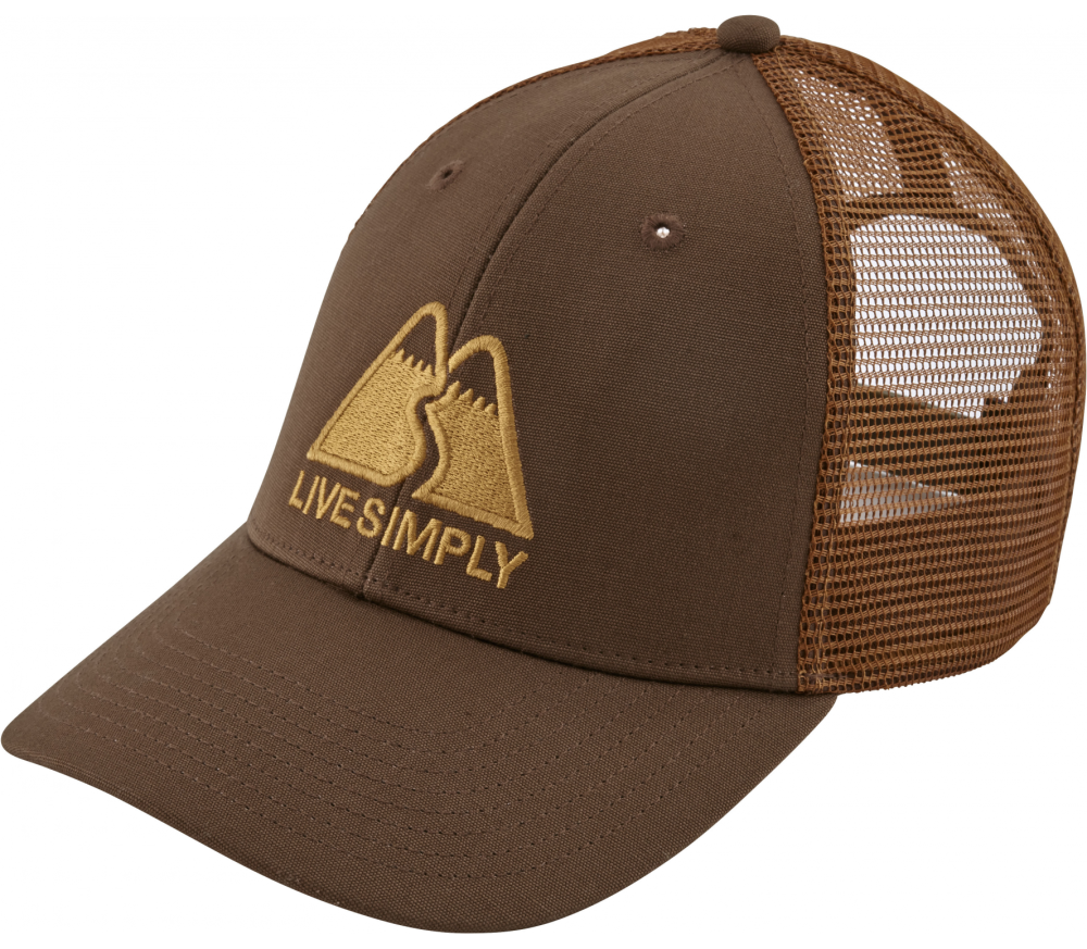 Patagonia - Live Simply Winding LoPro Trucker cap (brown)