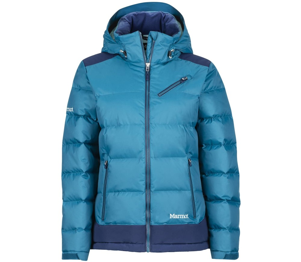 Marmot - Sling Shot women s skis jacket (blue) - buy it at the ... 0e82f821a