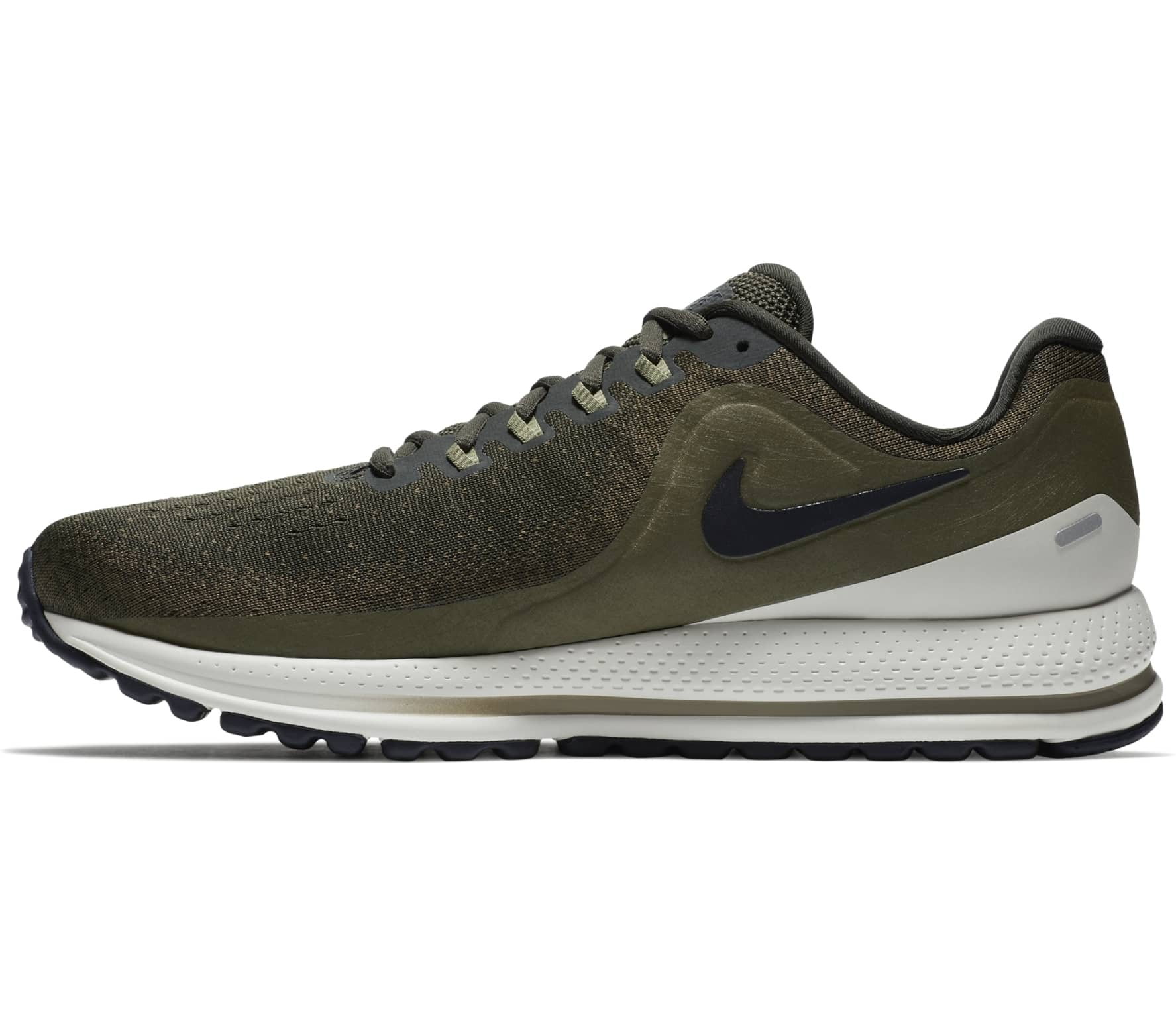 official photos 886b4 bcc84 ... clearance nike air zoom vomero 13 mens running shoes dark green white  efa61 c1a27