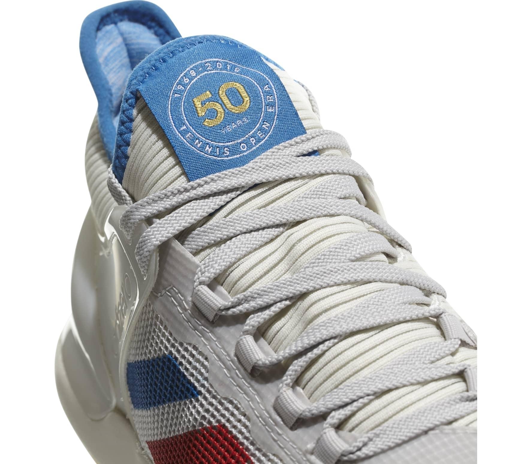 various colors 17849 ab1d3 Adidas - Adizero Ubersonic 50YRS LTD mens tennis shoes (whiteblue)