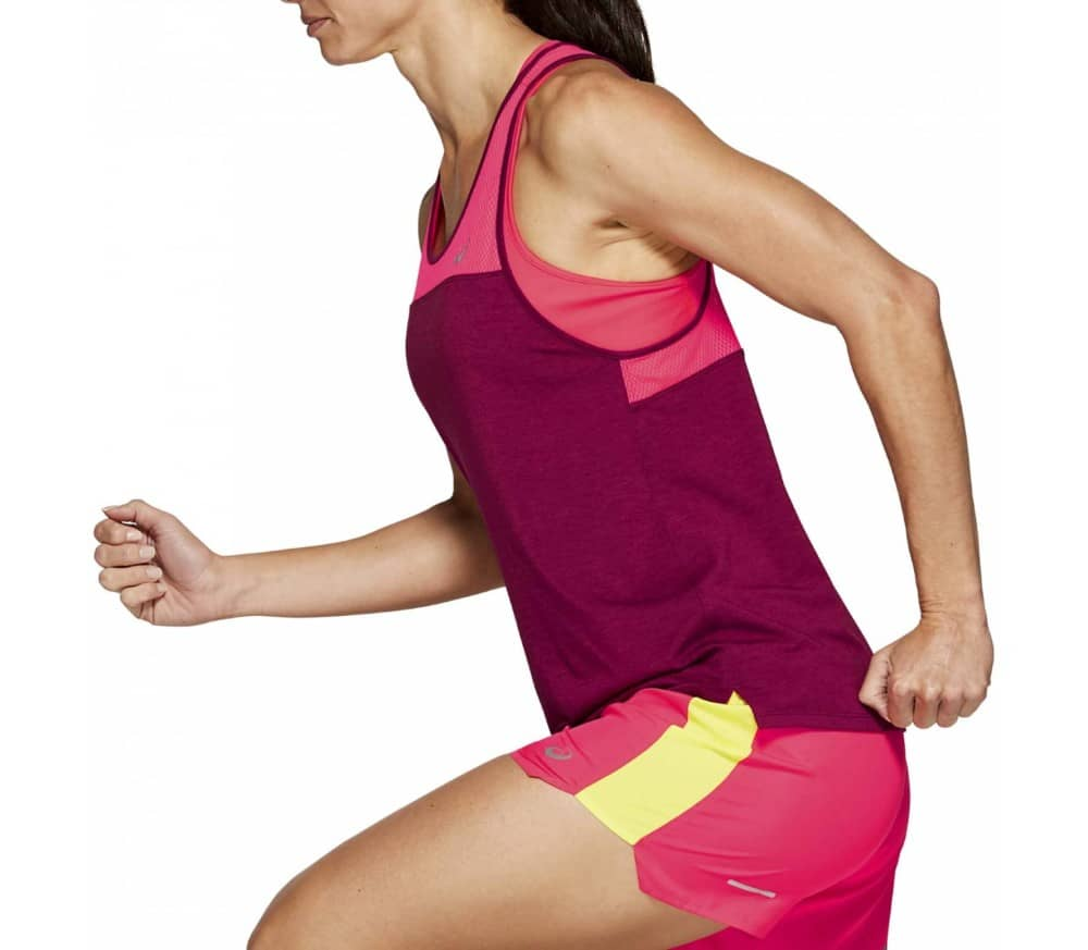ASICS Loose Strappy Women Running Top pink