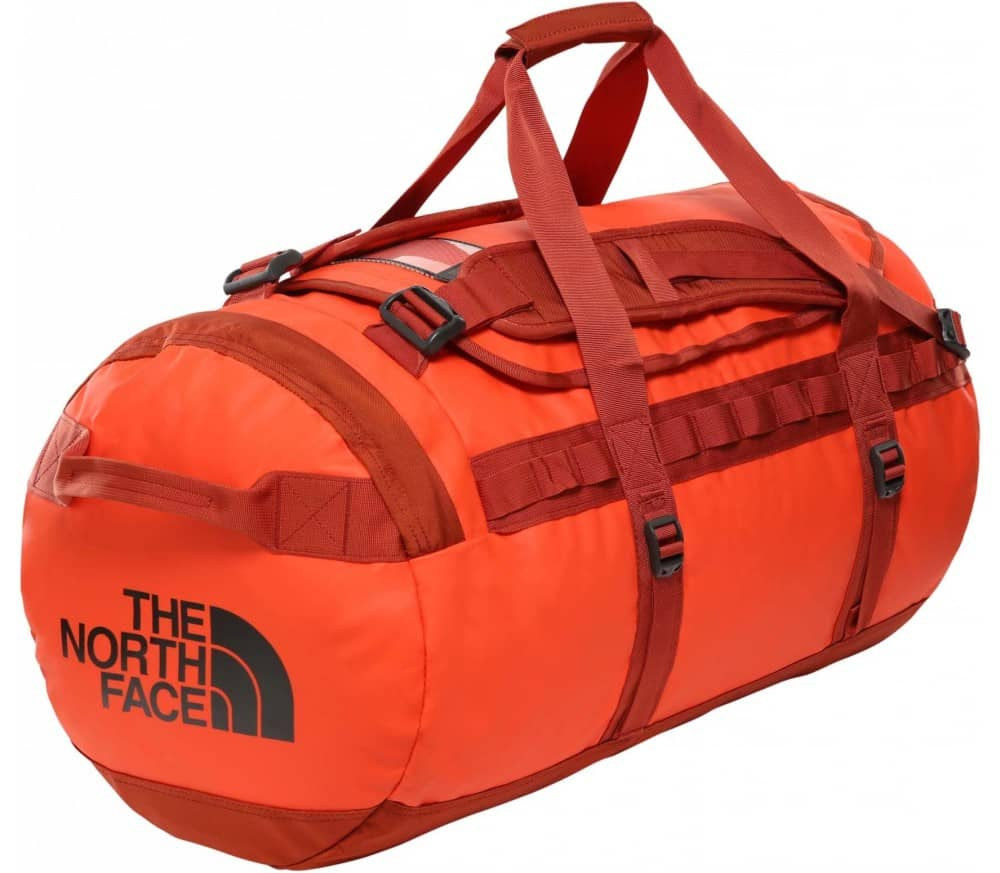 The North Face BASE CAMP DUFFEL M Unisex Bag orange
