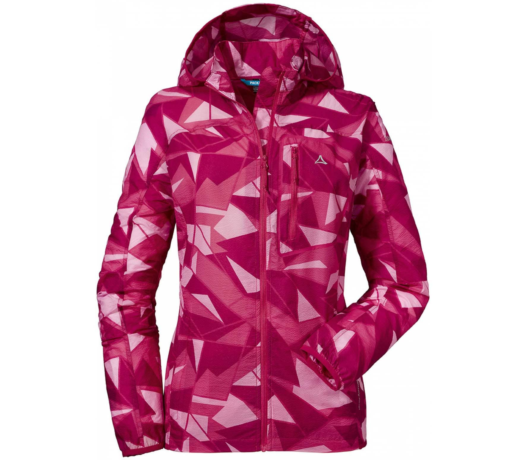 new design official site wholesale outlet Schöffel - AOP L women's windbreaker (pink)