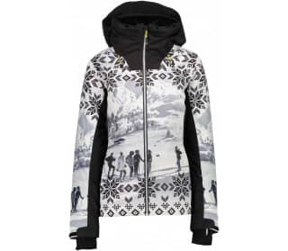 Fix Hood Women Ski Jacket