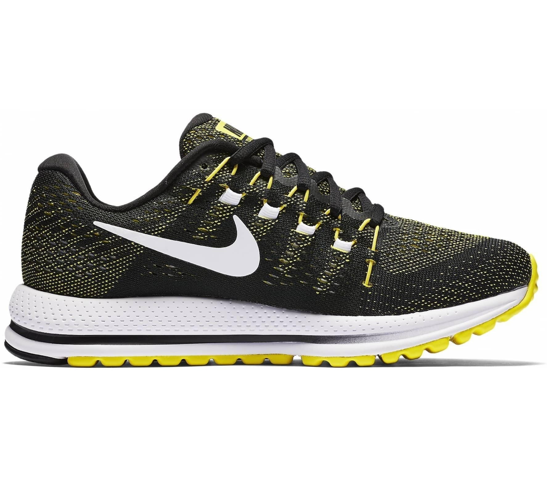 new arrival 350e2 cf628 ... discount code for nike air zoom vomero 12 bstn womens running shoes  black yellow 41cd9 5174e