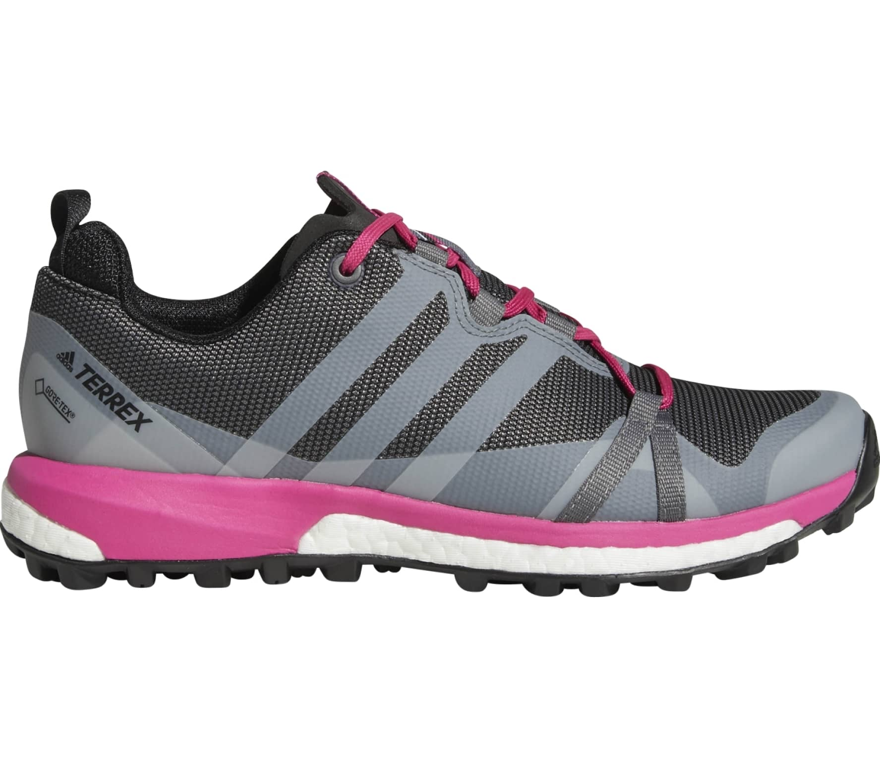 premium selection a163a 88b42 Adidas - Terrex Agravic GTX Women s hiking shoes (grey pink)