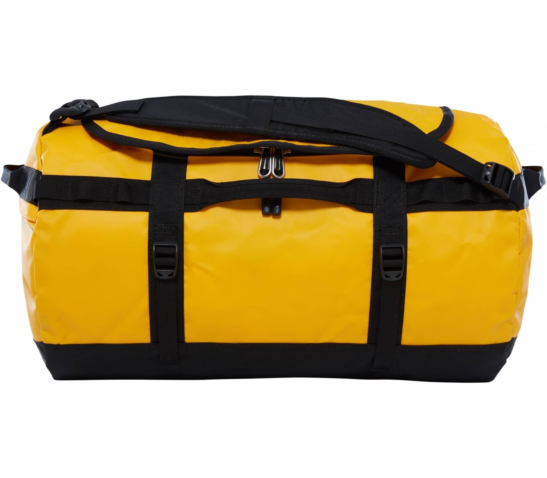 The North Face - Base Camp S - Update duffel bag (yellow/black)