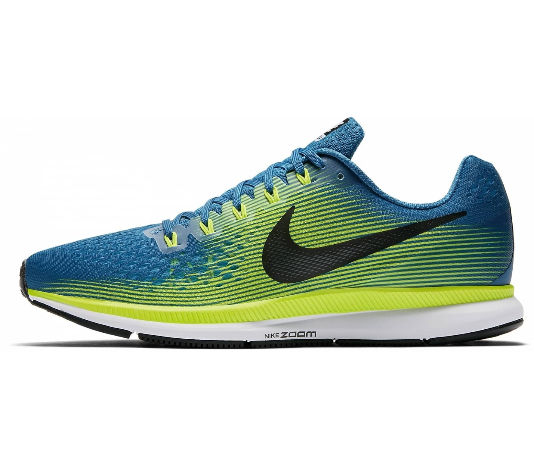 nike air zoom pegasus 34 herren laufschuh blau gr n im online shop von keller sports kaufen. Black Bedroom Furniture Sets. Home Design Ideas