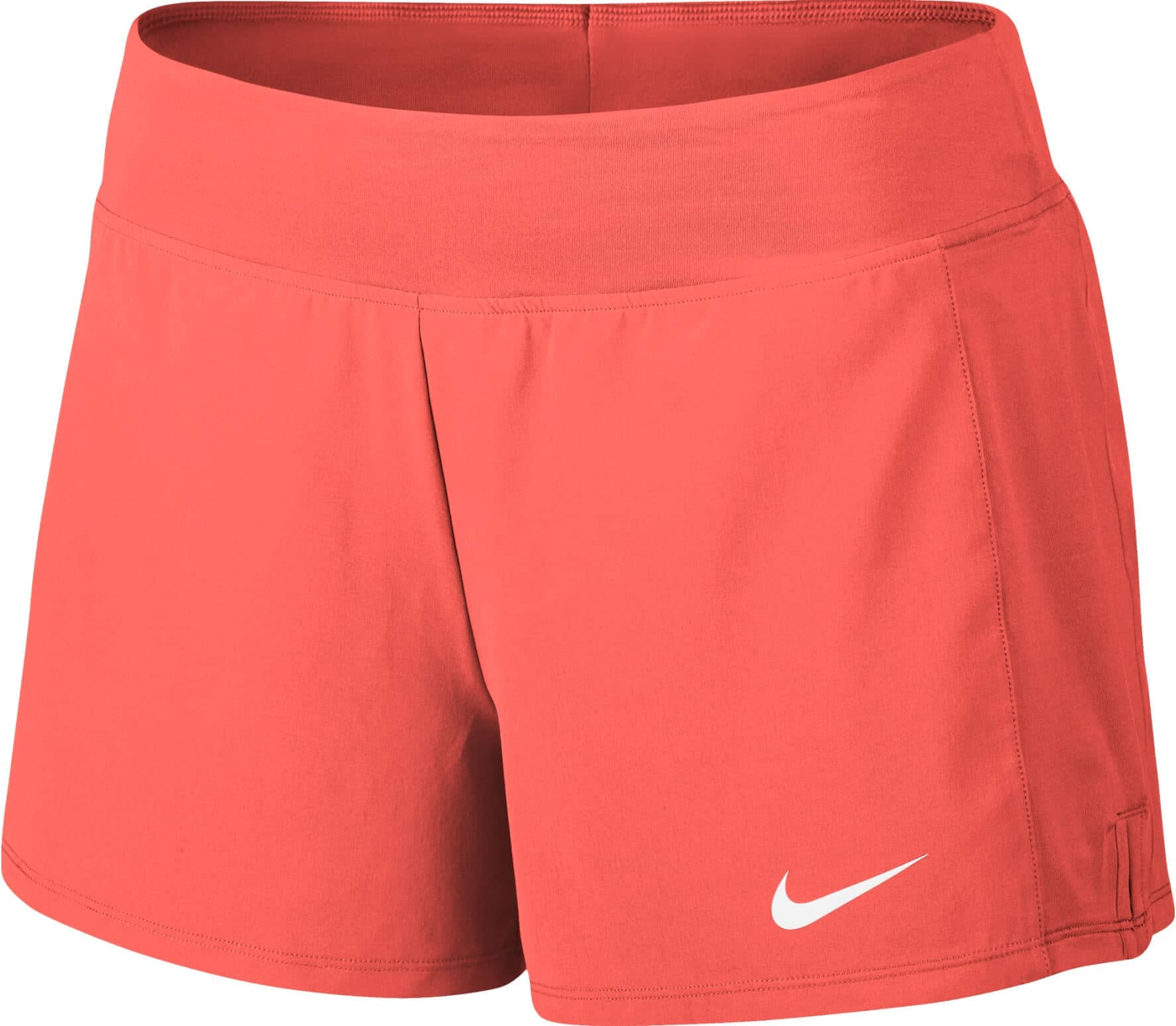 Nike - Court Flex Pure women s tennis shorts (orange white) - buy it ... 83137141c9