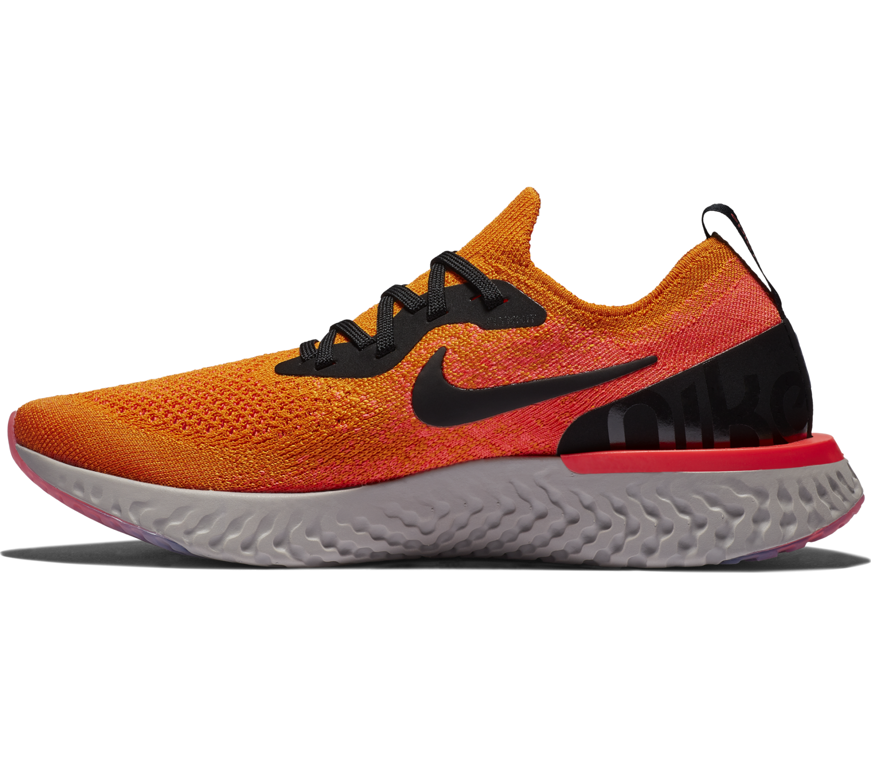 Nike - Epic React Flyknit Femmes chaussure de course (Orange)