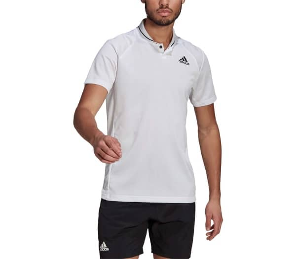 ADIDAS Club Rib Men Tennis Polo Shirt - 1