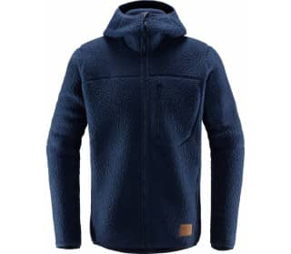 Pile Hood Heren Fleece Jas