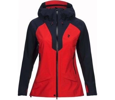 Peak Performance - Tour Damen Skijacke (rot)