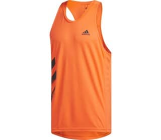 adidas Own The Run Singlet PB 3-Streifen Men Running Top