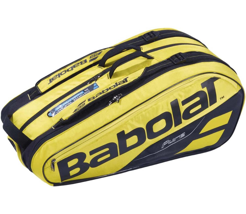 Babolat - RH X 9 Pure Aero tennis bag (yellow/black)