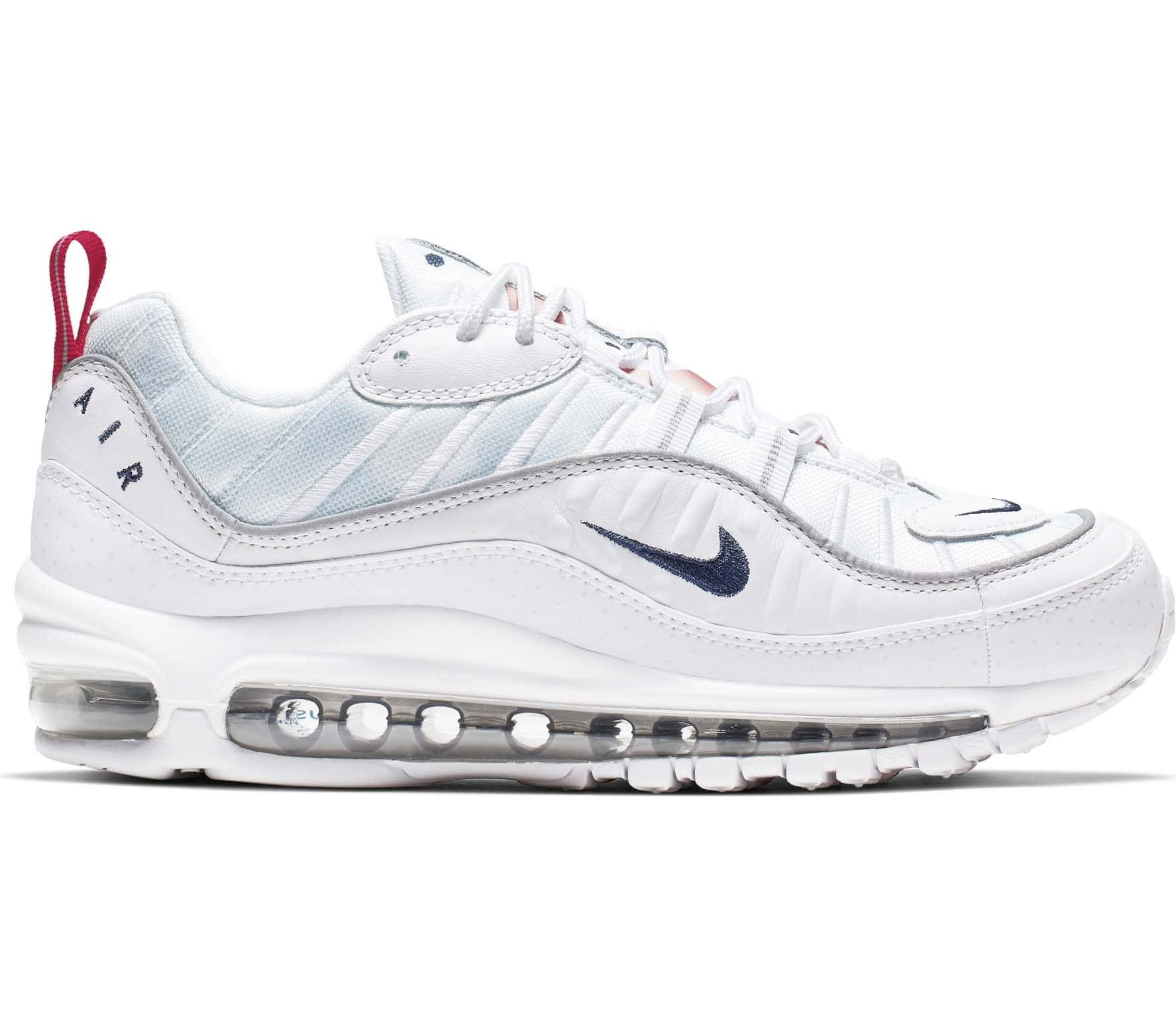 newest 8fbe0 df437 Nike Sportswear Air Max 98 Premium Women Sneakers white