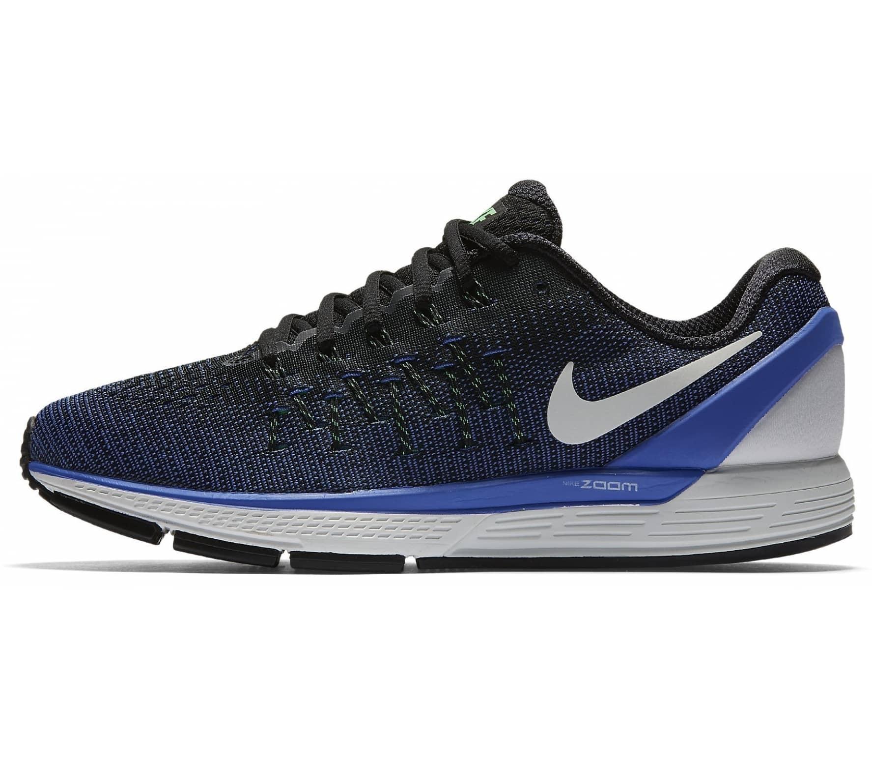 new product ee5c7 6fd5c Nike - Air Zoom Odyssey 2 men's running shoes (black/blue)