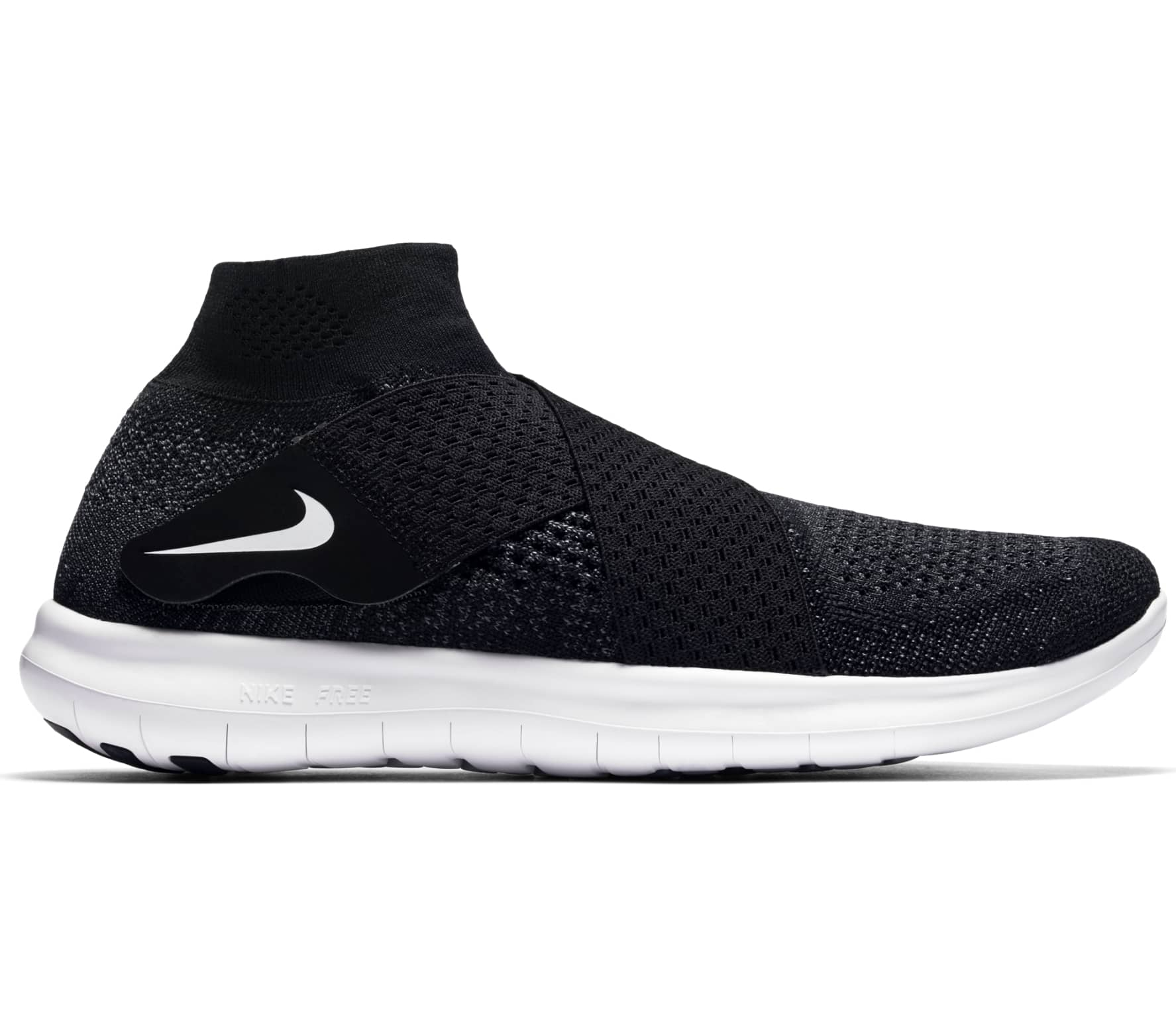 899e791f9f7e8 Nike - Free RN Motion Flyknit 2017 women s running shoes (black white)