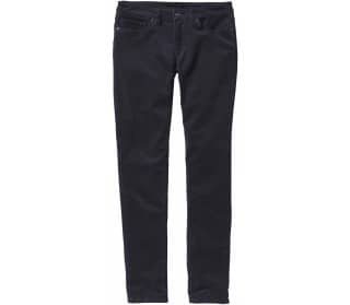 Fitted Corduroy Women Trousers