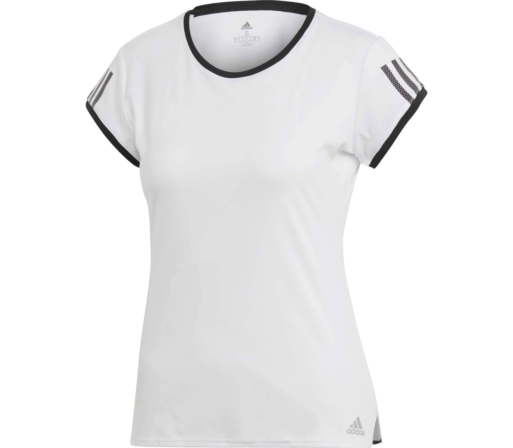 adidas Performance Club 3 Stripes Femmes Tennis chemise (blanc)