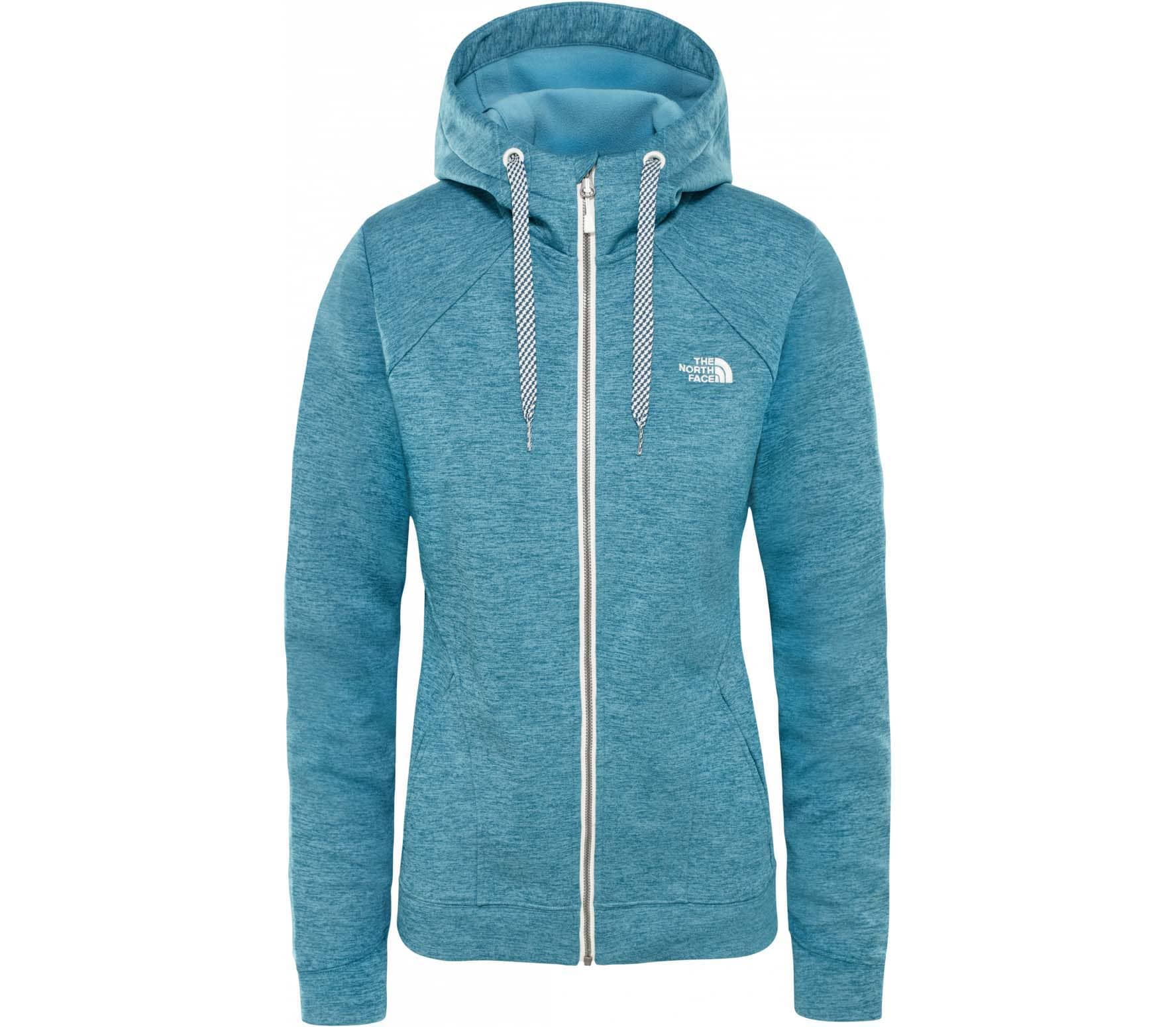 29dde4e206bf The North Face - Kutum Full Zip Kvinder fleece jakke (blå) Køb ...