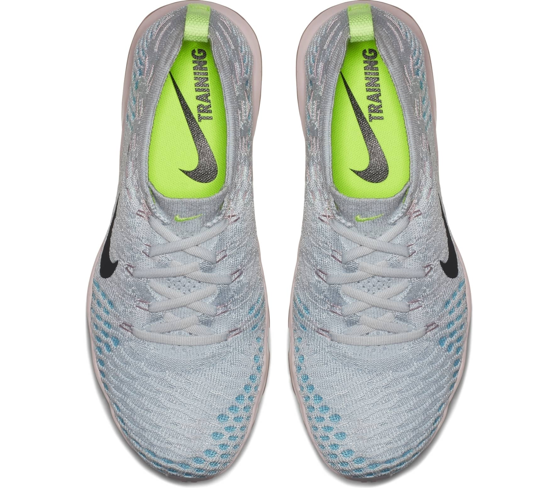 1921b5a894f Nike - Air Zoom Fearless Flyknit Lux women s training shoes (light  blue pink)