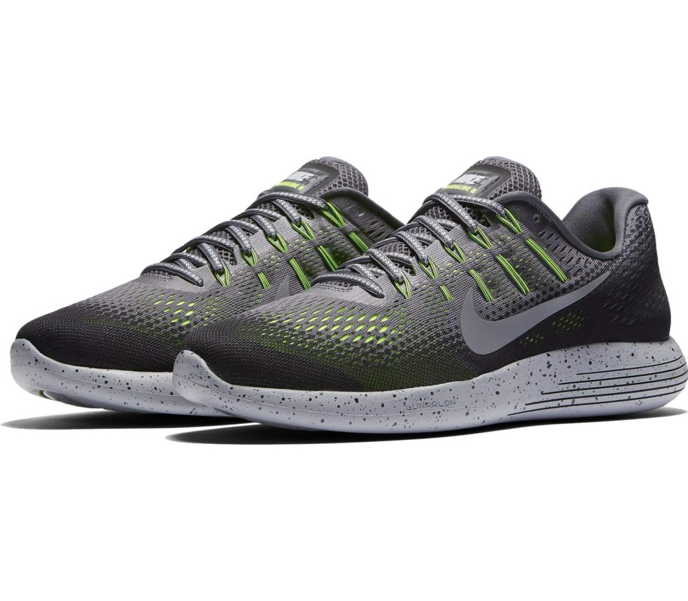size 40 43a9e 85680 Nike - LunarGlide 8 Shield men s running shoes (dark grey silver)