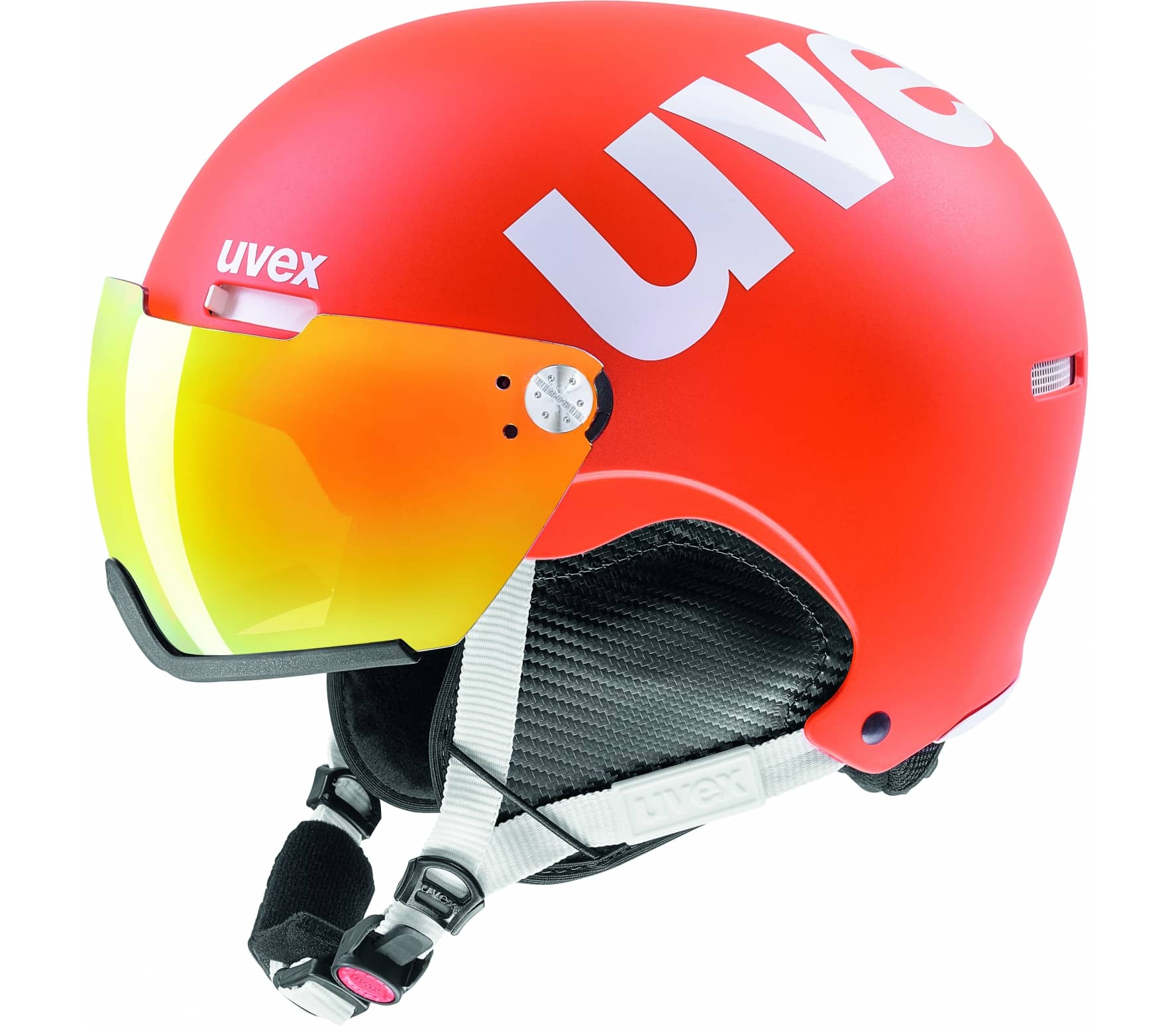 Uvex - Hlmt 500 Visor Skihelm (orange) - L (59?...