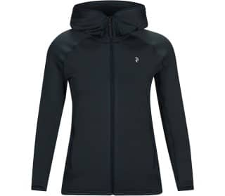 Peak Performance Chill Light Hood Donna Maglia a maniche lunghe con zip