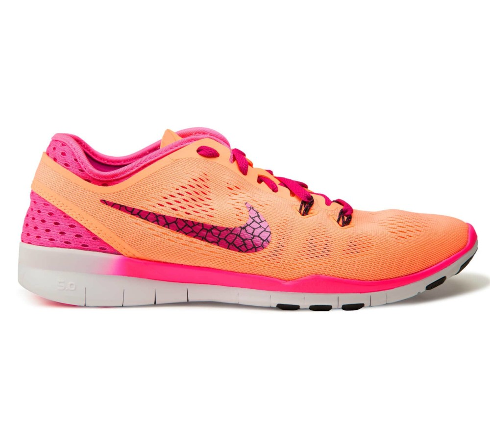 nike free 5 0 tr fit 5 breathe dames training shoe roze. Black Bedroom Furniture Sets. Home Design Ideas