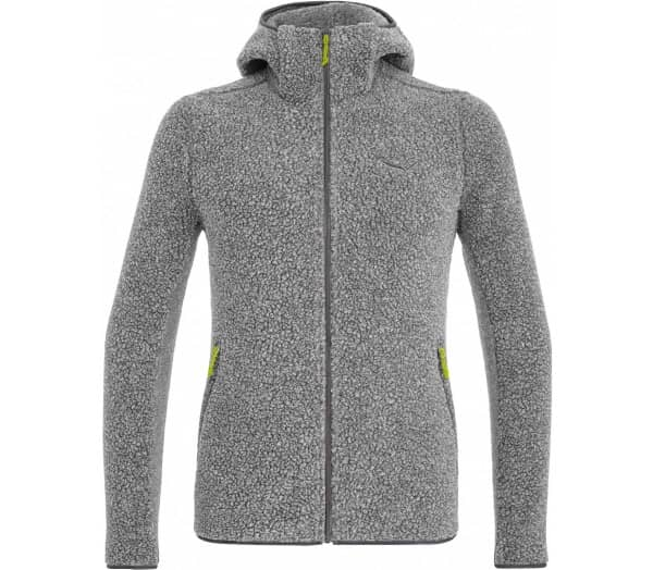 SALEWA Fanes Shearling Wool Men Fleece Jacket - 1