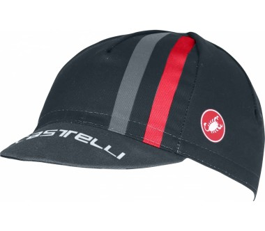 Castelli - Podio Doppio men's Bike cap (dark blue/red)