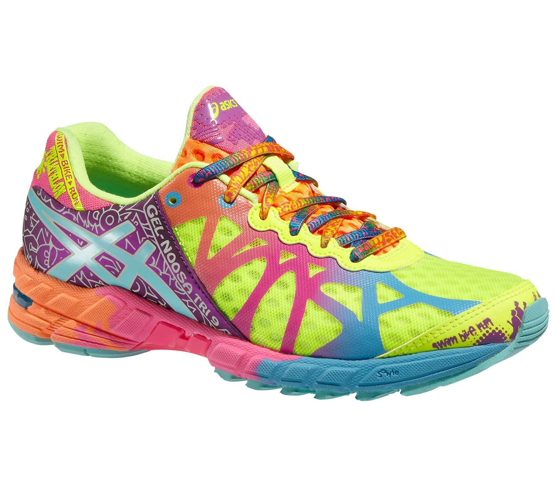... low price asics gel noosa tri 9 womens running shoes yellow purple  80788 d9033 c51905bde9e5b