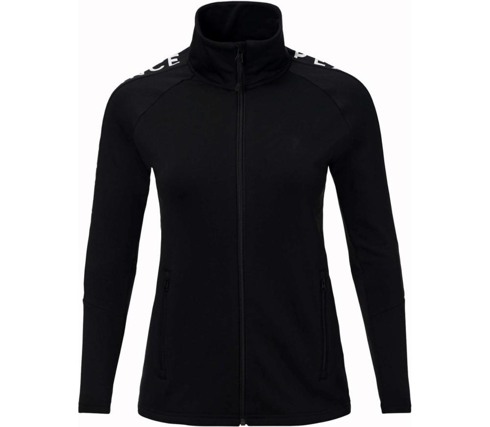 Peak Performance - Rider Zip women's fleece jacket (black)