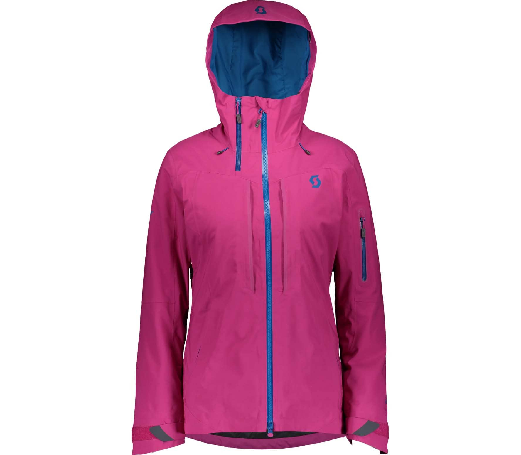 Scott Ultimate Dryo 30 Jacket Women mykonos blue festival