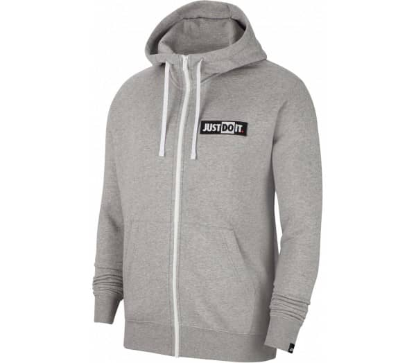 NIKE SPORTSWEAR Just Do it Men Zip-up Sweathirt - 1