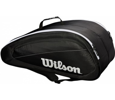 Wilson Fed Team 12 Pack Herren Tennistasche black