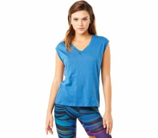 MANDALA Ribbed Women Yoga Top