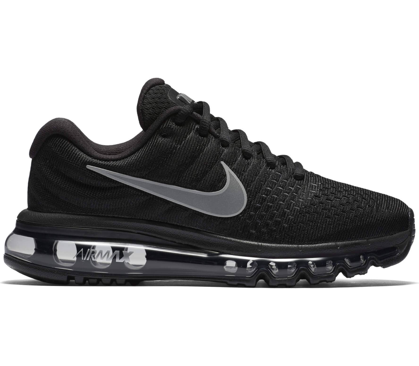 pretty nice a70ea 11a5e Nike - Air Max 2017 women s running shoes (black white)
